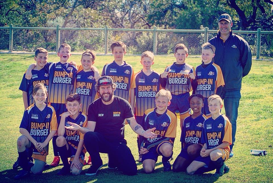 Bump in Burger - Self Starter Podcast - Brad with the local Westside FU U12 A side - Bump In Sponsor
