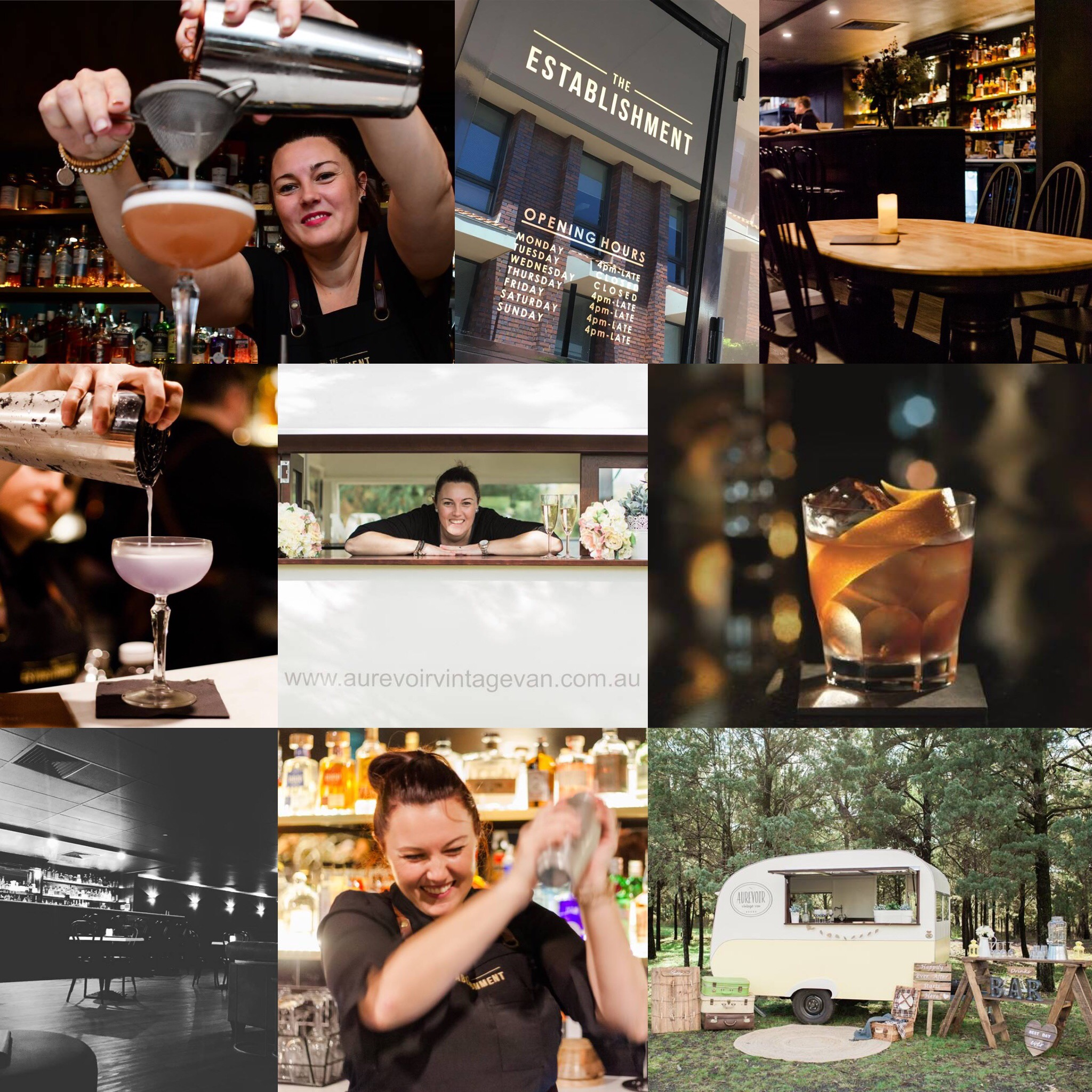 The Establishment Bar - AuRevoir Vintage Van - Tenelle Bond - Self Starter Podcast